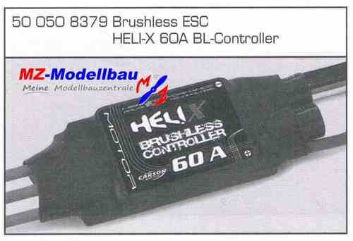 Brushless Controller 60A