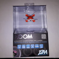 Zoom Micro Quadrocopter -ORANGE- mit Kamera