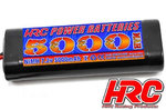 5000mAh  NiMH Racing Pack 7,2V Tam. Stecker